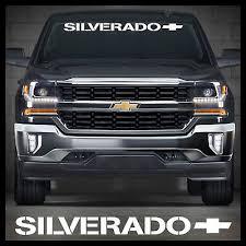 Chevrolet Window Decal Chevy Windshield Sticker 45 Inch