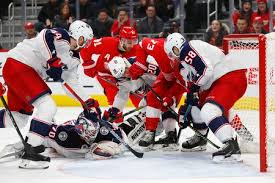 Red Wings fall to Blue Jackets despite pair from Adam Erne - mlive.com