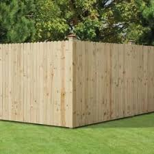 Common 1 In X 4 In X 6 Ft Actual 0 625 In X 3 5 In X 6 Ft Pine Dog Ear Wood Fence Picket At Lowes Com Wood Privacy Fence Wood Fence Wood Fence Design