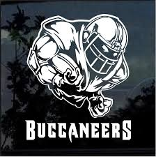 Tampa Bay Buccaneers Football Player Window Decal Sticker Custom Sticker Shop