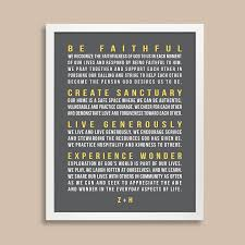 Family Rules Wall Art Bold Text Papermints