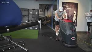 gyms in north texas up cleaning efforts