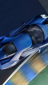 wallpaper ford gt ii blue supercar top