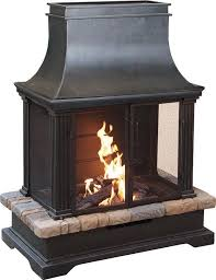 seville wood burning outdoor fire pit