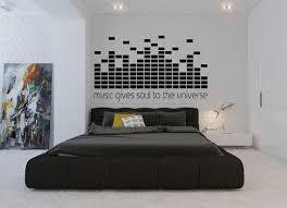 Music Gives Soul To The Universe Wall Decal Dj Decal Home Decor Studio Decor High Quality Studio Decor Dj Room Home Decor