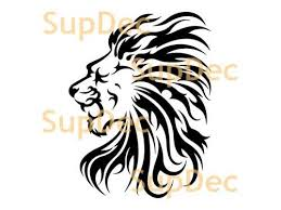 Product Lion Vinyl Art Wall Window Bathroom Sticker Decal Removable 2