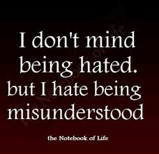 quotes about misunderstanding