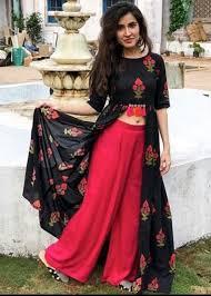 Indian designer wear image by Ivy Graham on iconic looks | Long kurti  designs, Blouse design models