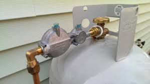 propane tank to fireplace connection