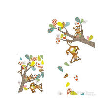 Kiki S Monkey Tricks Wall Sticker Lilly Gugu Online Store