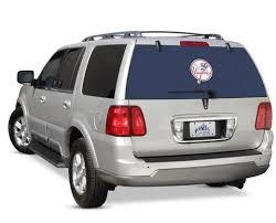 New York Yankees Rear Window Graphic Custom Vinyl Graphics