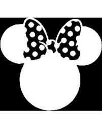 Minnie Mouse Mickey Disney Vinyl Sticker Decals For Car Bumper Window Macbook Pro Laptop Ipad Iphone 6 X 5 7 White On Ranker Shop