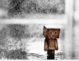 صور حزينة لدانبو في المطر Sad Danbo صور حزينة Sad Images