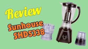 Review Máy xay sinh tố Sunhouse SHD5338   ZenVN Plus – Mua Sắm Giá Rẻ & Tư  Vấn Sức Khỏe