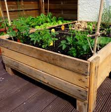 container gardening diy planter box