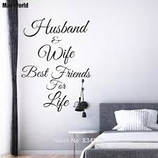 Mad World Husband And Wife Best Friends For Life Wall Art Stickers Wall Decal Home Diy Decoration Removable Decor Wall Stickers Decorative Wall Stickers Decoration Wallwall Sticker Decor Aliexpress