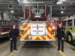 West Orange Welcomes Two New Firefighters | TAPinto