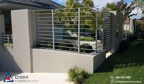 Qsm Fabrication On Twitter Custom Made Aluminium Fence Panels Gates And A Shiny New Letterbox For A House In East Fremantle Https T Co C2ccjeyjf3 Https T Co Yijrgskmdd