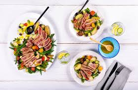 Seared Tuna Steak Salad Niçoise with ...