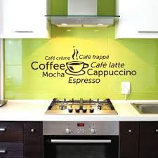 Coffee Wall Decals Coffee Decals Kitchen Decals Cocktail Decals Style And Apply