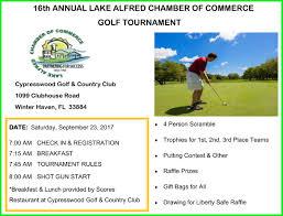 16th golf tournament flyer rev