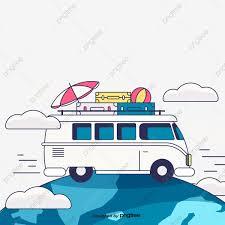 La Caravana De La Caravana Nubes Medios De Transporte Cartel