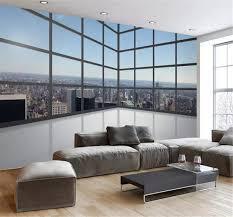 any size 3d wallpaper 3d balcony floor