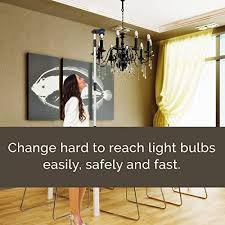 highlight chandelier light bulb changer
