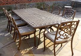 8 seater large rectangle table