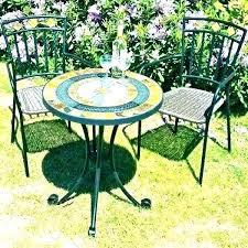 mosaic bistro garden furniture set