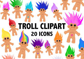 png troll clipart 90s troll doll icons