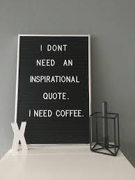 coffee gives me energy felt letter board letter board lettering
