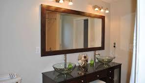 bathroom mirror trim splendid frame