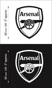 Arsenal F C Soccer Decal Sticker Vehicle Window Laptop Wall