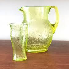 depression glass pitcher on wanelo