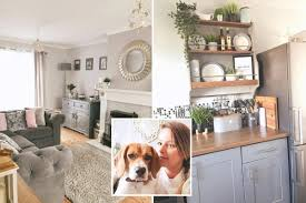 Mum Transforms Her Entire Shabby Home For Just 300 Using B M And Home Bargains Buys