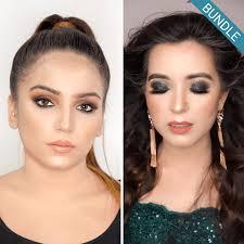 makeup 101 green glam look bundle