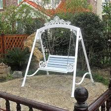 iron garden swing chair hammock outdoor