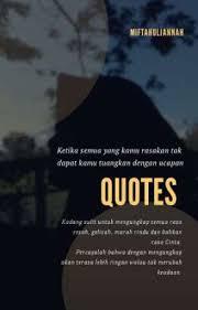 my quotes rindu wattpad
