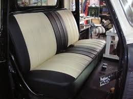 chevy truck bench seat two tone car