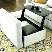 oversized rectangular storage ottoman