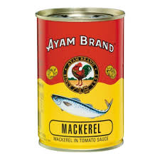 Canned Mackerel in Tomato Sauce 425 g ...