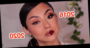 makeup look shows how much beauty