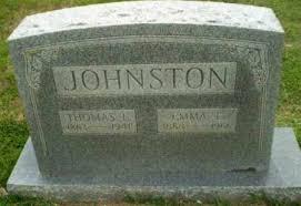 JOHNSTON, THOMAS E - Craighead County, Arkansas   THOMAS E JOHNSTON -  Arkansas Gravestone Photos
