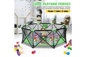 Dick Smith Babys Safety Tent Playpen Fence Safety Barrier Game Playard Infants Kids Indoor Home Playpens