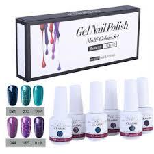gel nail polish set uv led soak off