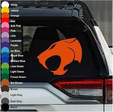 Thundercats Sign Car Decal Crazy4decals