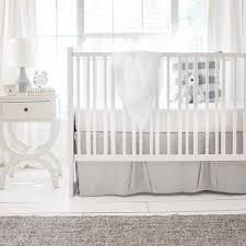 gray crib bedding sea salt new