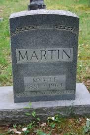 Delia Myrtle Reynolds Martin (1881-1964) - Find A Grave Memorial