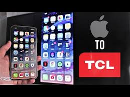 screen mirroring iphone xs to tcl tv